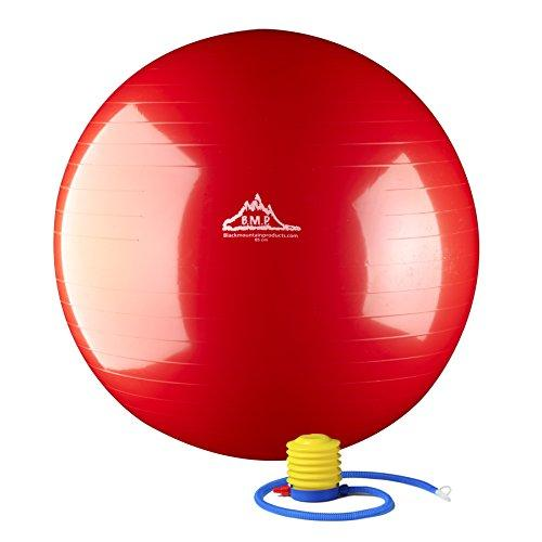 2000lbs Static Strength Exercise Stability Ball with Pump Red
