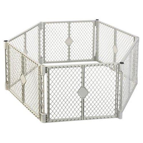 North States Industries 6 Panel Pet Superyard Gate