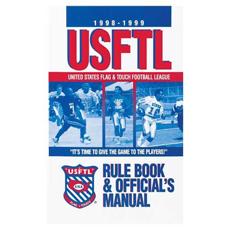 Flag-a-Tag Usftl Rule Book And Officials Manual