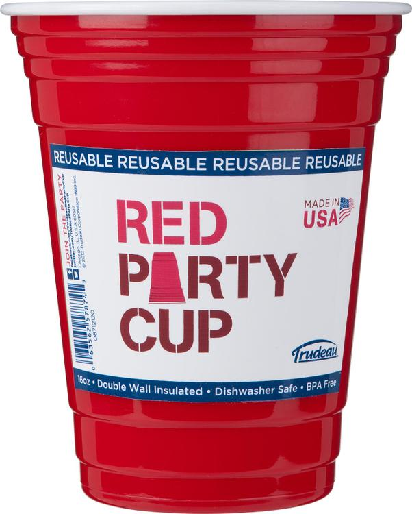08712120 Red Party Cup Single