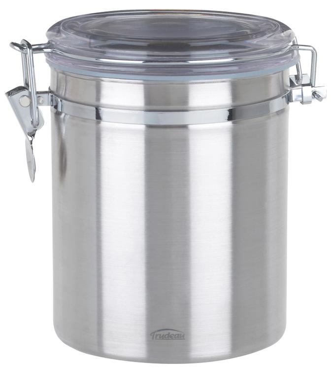 0871802 Coffee Canister Ss