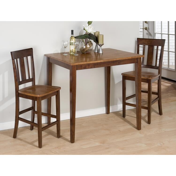 Counter Height 3-Piece Dining Set