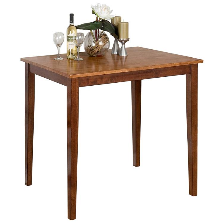 Kura Espresso/Canyon Gold Counter Height Table