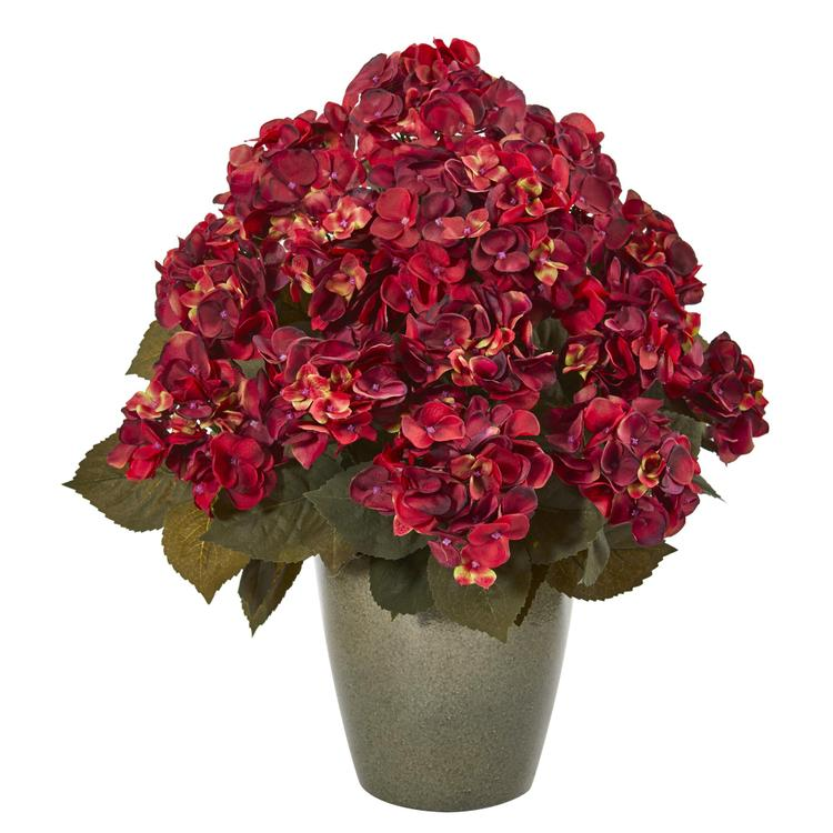 Nearly Natural Fall Hydrangea Artificial Plant