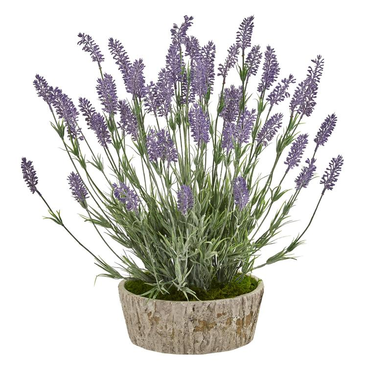 Nearly Natural Lavender Artificial Plant