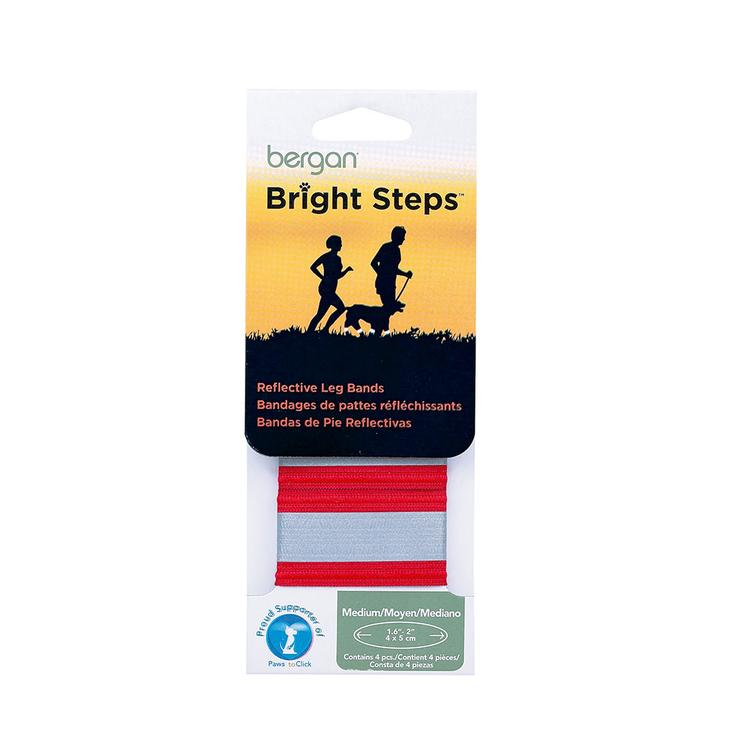 Bright Steps Reflective Leg Bands