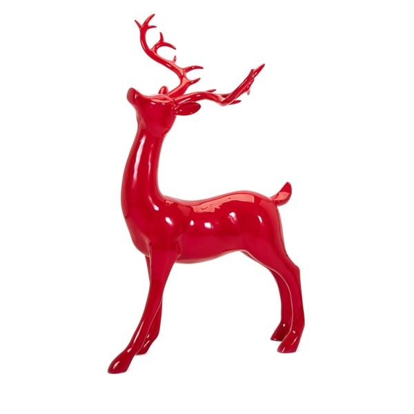 Playful Reindeer