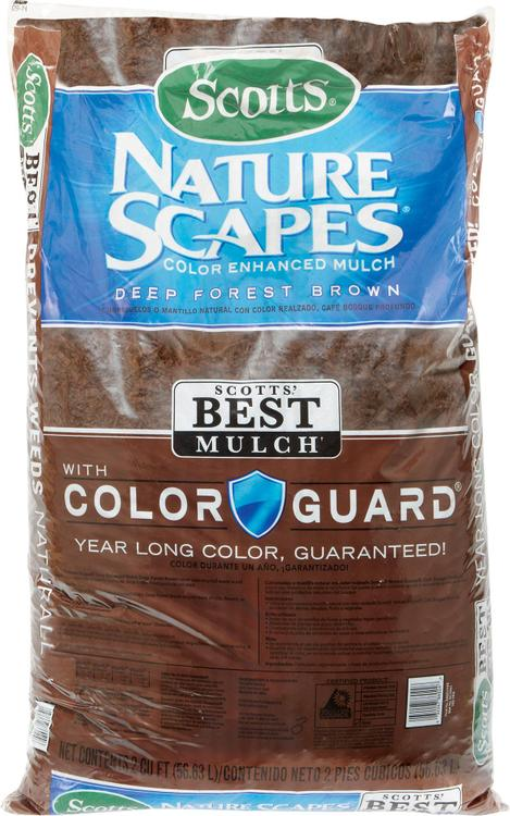 MULCH BROWN 2CF