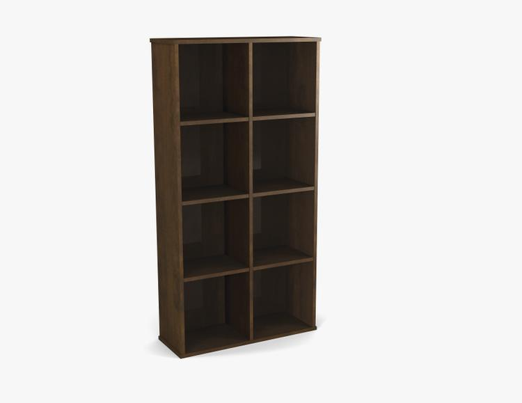 Dayton by Bestar Cubby Bookcase