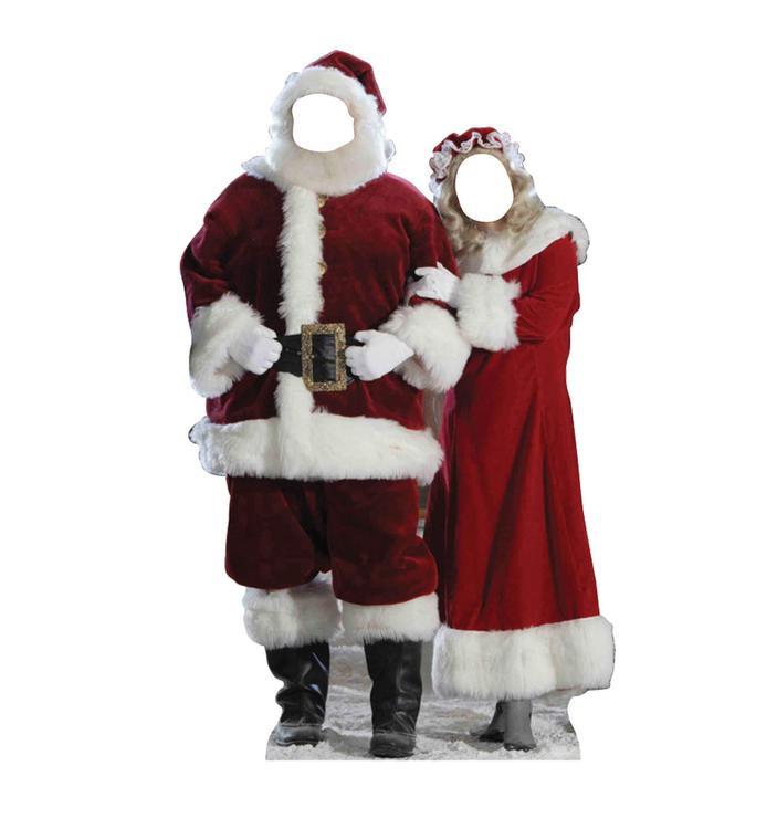 Santa & Mrs. Claus Standin