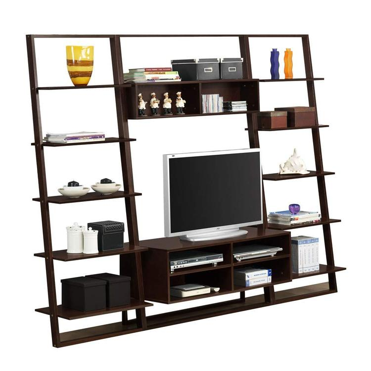 4D Concepts 1 Arlington Entertainment Center (89854)               2 Arlington Wall Bookcases(89835)