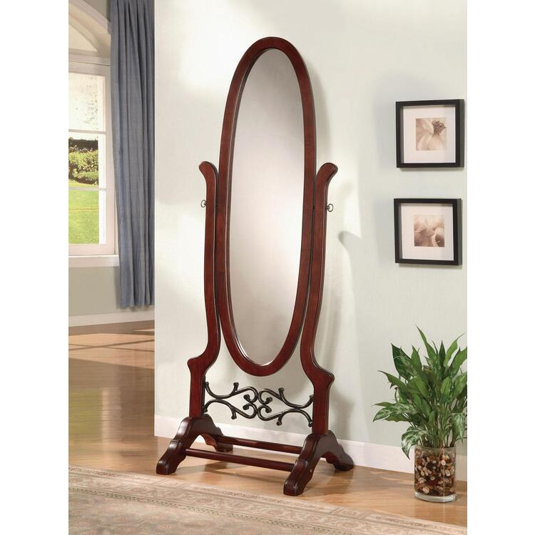 Coaster Traditional Brown Red Mirror [Item # 900466]