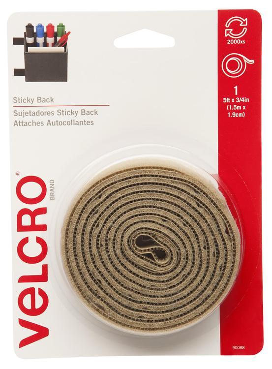 Velcro 90088 Tape Beige 3/4X5'