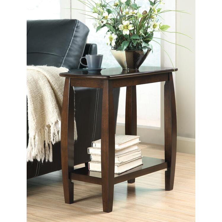 Coaster Home Casual Cappuccino Accent Table