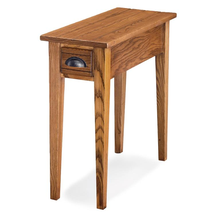Leick Home Bin Pull Side Table