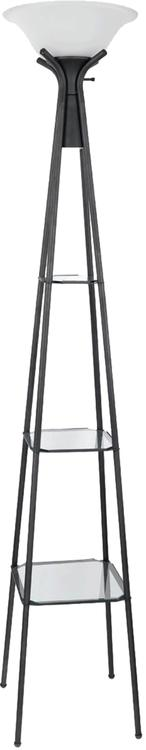 Coaster Home Contemporary Charcoal Black Lamp