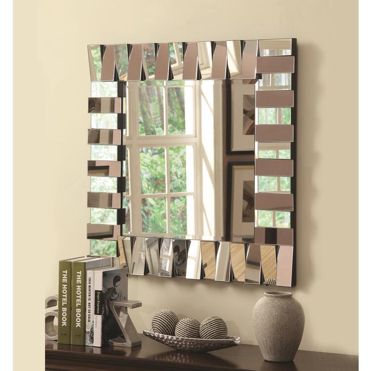 Coaster Contemporary Square Mirror