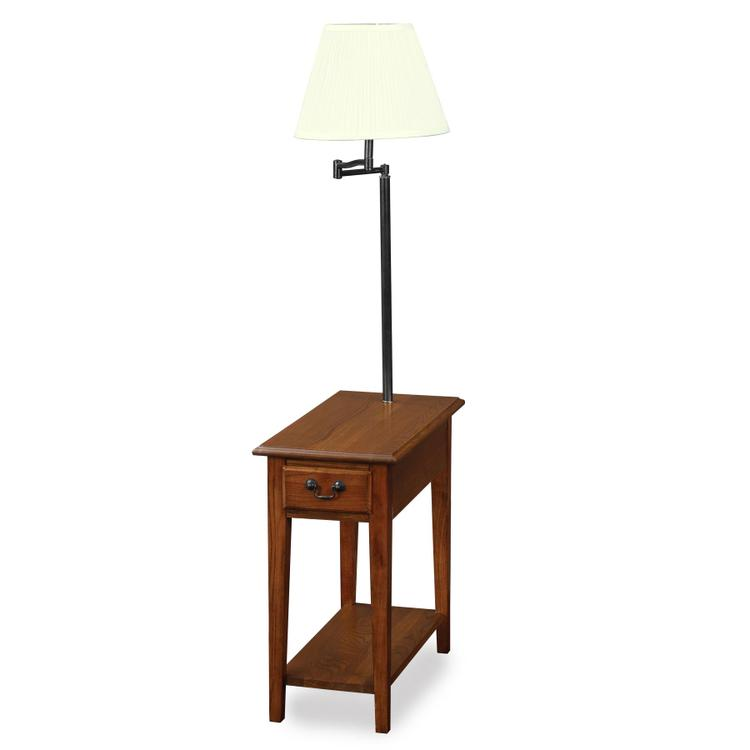 Leick Home Chairside Lamp Table