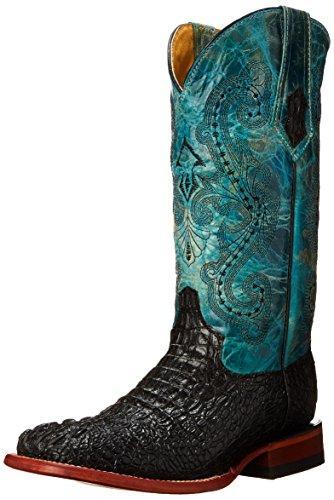 Ladies Print Caiman Boot