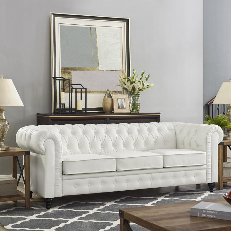 Naomi Home Emery Chesterfield Sofa [Item # 90403A]