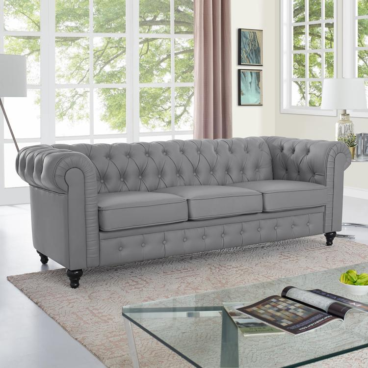Naomi Home Emery Chesterfield Sofa [Item # 90407]