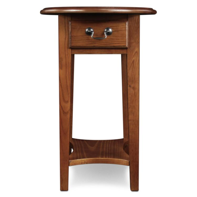 Leick Home Oval Side Table
