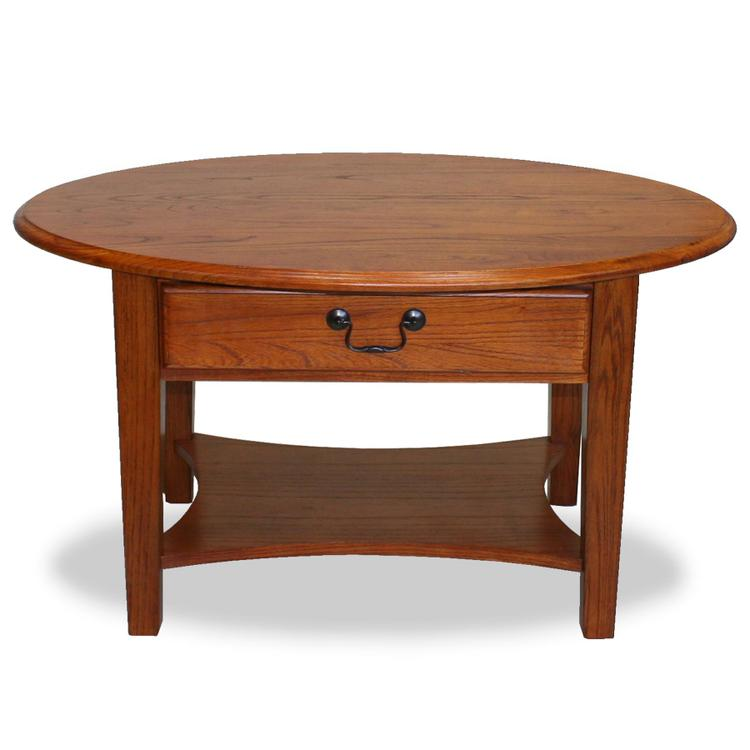 Leick Home Oval Coffee Table