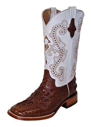 Ladies Print Caiman Body Boot