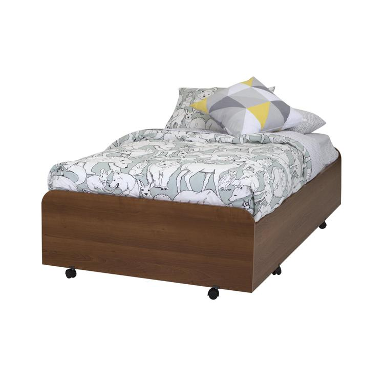 Mobby Twin Trundle Bed (39'') on Casters