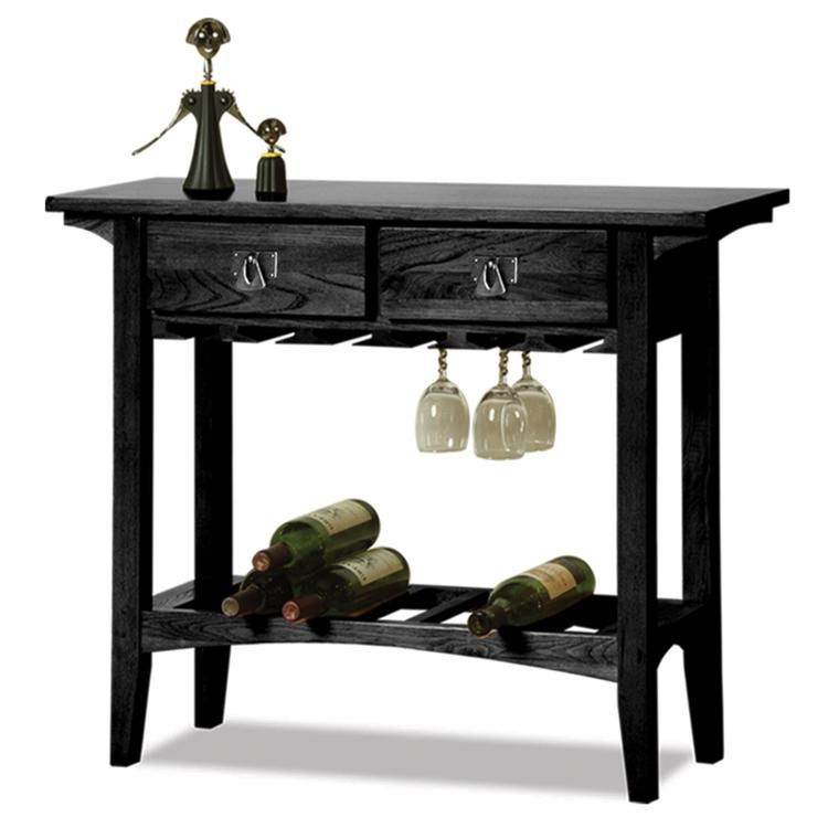 Leick Home Mission Wine Stand