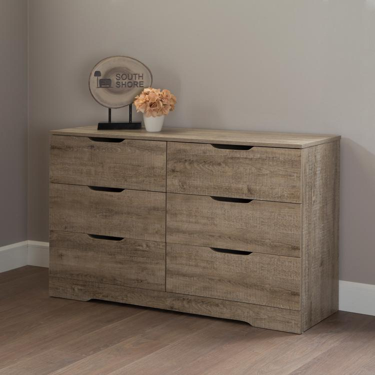 South Shore Holland 6-Drawer Double Dresser