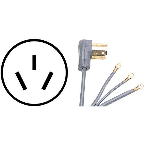 CERTIFIED APPLIANCE 90-1082 3-Wire Range Cord (5ft; 50A)