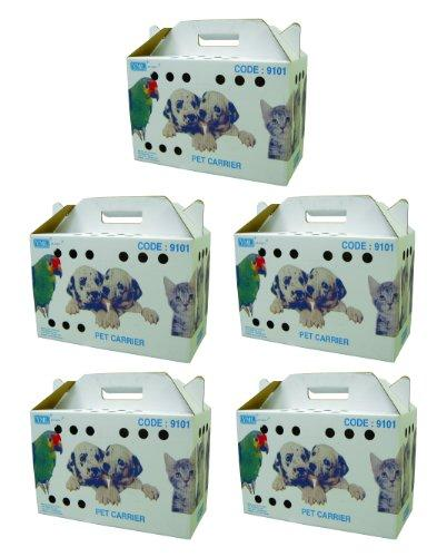 Set of 5  9101 Travel Box for Small Animal, Large