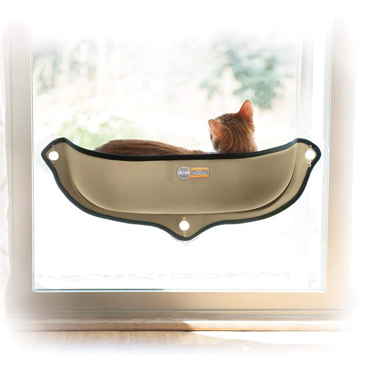 K&H Pet EZ Mount Window Bed Kitty Sill