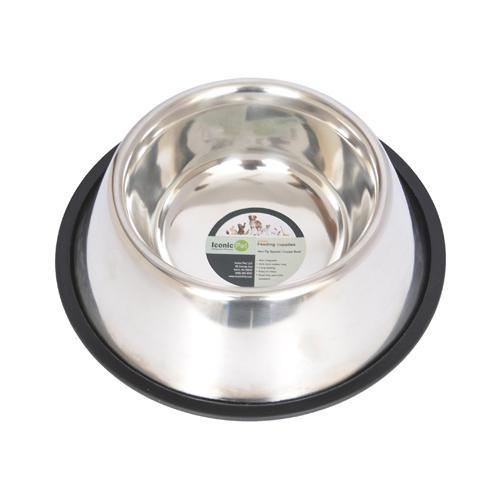 Iconic Pet - Non-Skid Spaniel/Cocker Bowl for dog - 64 oz - 8 cup
