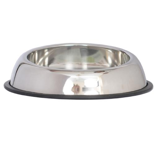 Iconic Pet - Heavy Weight Non-Skid Easy Feed High Back Pet Bowl for Dog or Cat - 32 oz - 4 cup