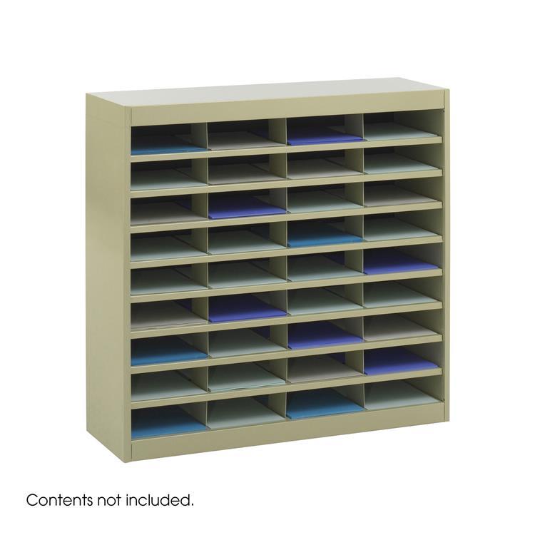 E-Z Stor® Literature Organizer, 36 Letter-Size Compartments