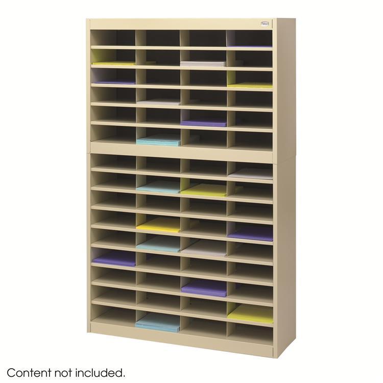 E-Z Stor® Literature Organizer, 60 Letter-Size Compartments