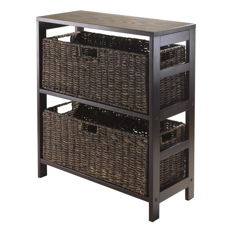 Winsome Wood Granville 3 Piece Storage Shelf