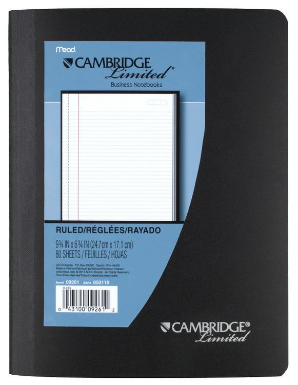 09261 Composition Book