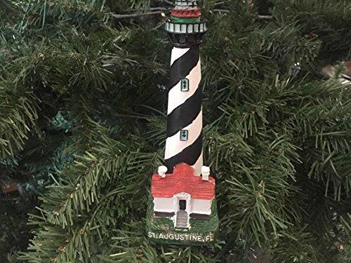 St. Augustine Lighthouse Christmas Tree Ornament 7''