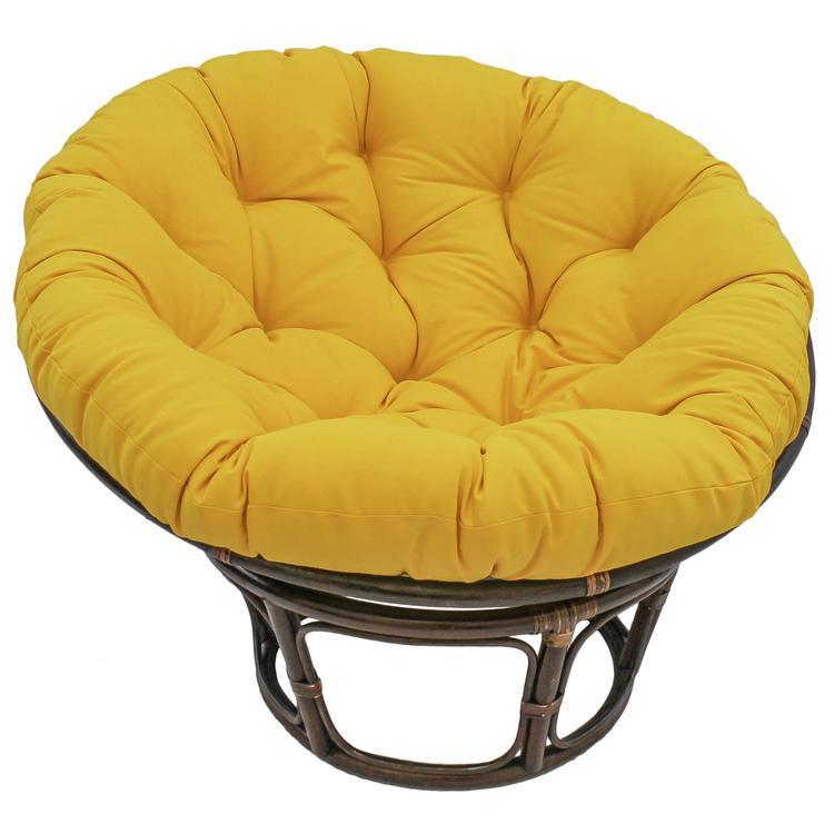 44-inch Solid Twill Papasan Cushion (Fits 42-inch Papasan Frame)