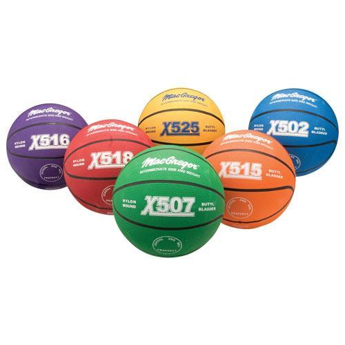 MacGregor Multicolor Basketball Prism Pack Interm.