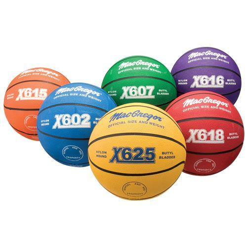 MacGregor Multicolor Basketball Prism Pk Official