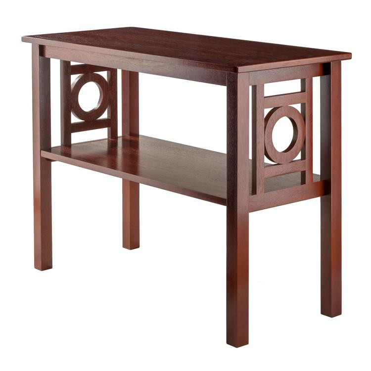 Winsome Wood Ollie Console Table Walnut