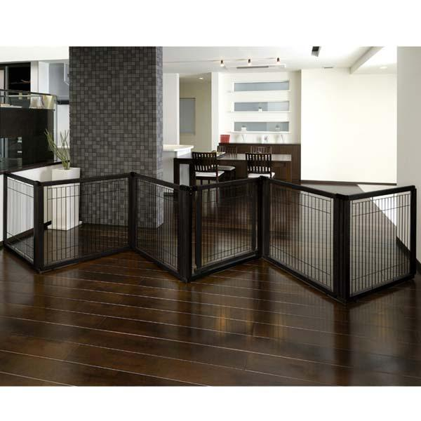 Convertible Elite Pet Gate 6 Panel