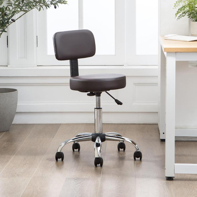 Mara Adjustable Drafting Stool by Naomi Home