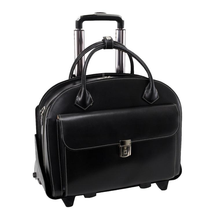 McKlein Glen Ellyn Wheeled Ladies Briefcase
