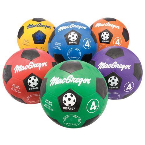 MacGregor Multicolor Soccer Prism Pack Size 5