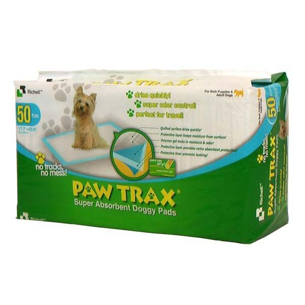 Paw Trax Pet Training Pads 50 Count